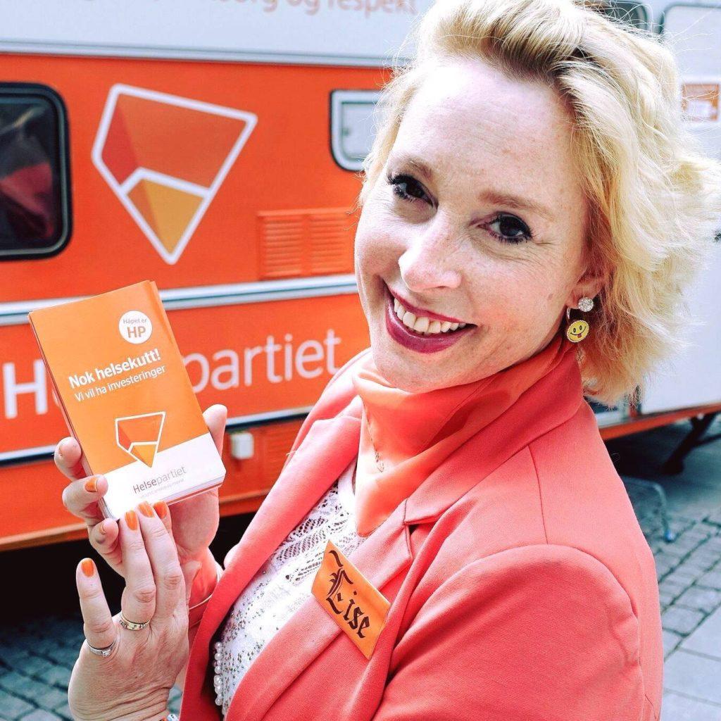Helsepartiets leder Lise Asvkik