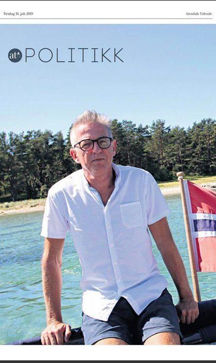 Knut Tveiten ble valgt inn for Helsepartiet i Arendal