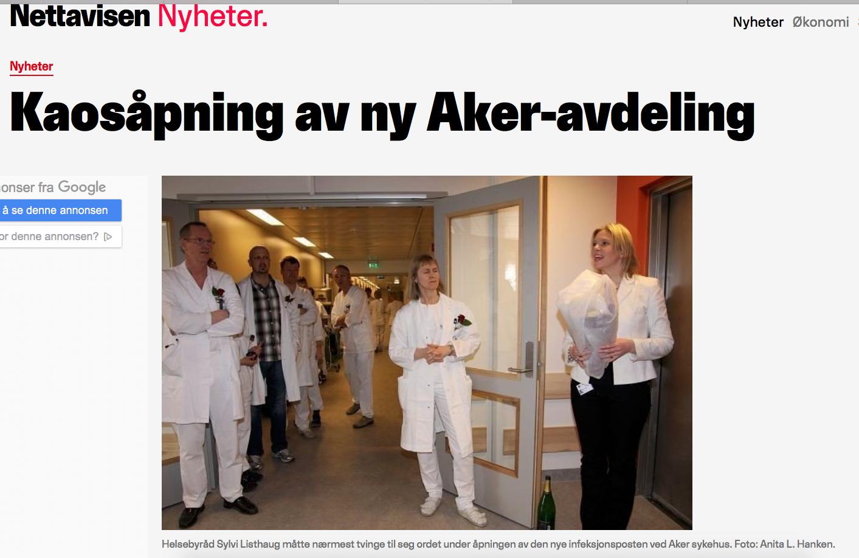 Isolatsenteret på Aker sykehus må tas i bruk til korona-pasienter umiddelbart