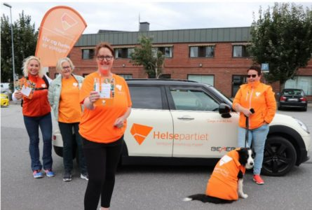 Helsemegge og førstekandidat i Østfold
